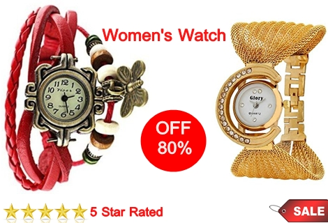Discount Watches For Girls at Only Rs 199